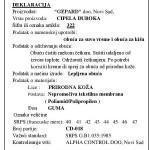 Deklaracija Gepard 2011