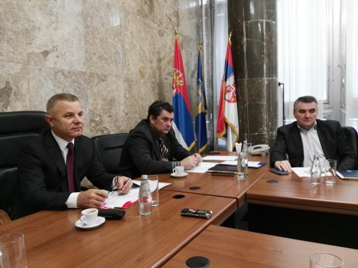Месечни састанак у Кабинету министра