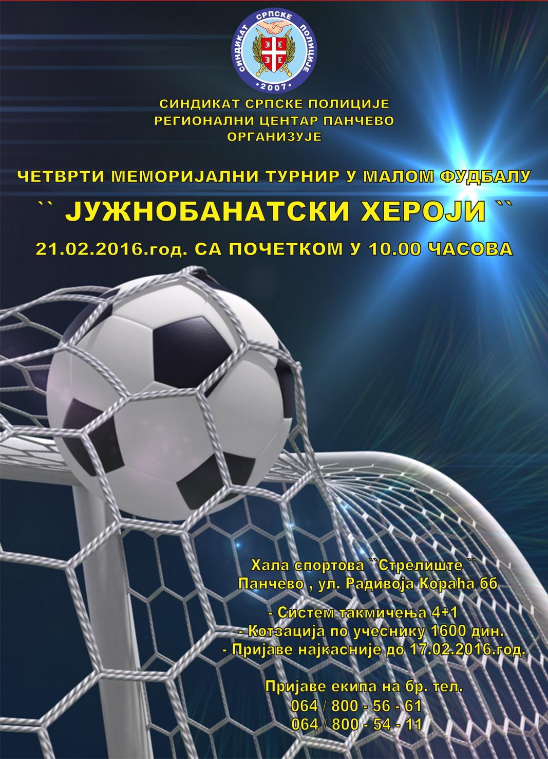 Plakat turnira 1