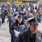 policija u strajku