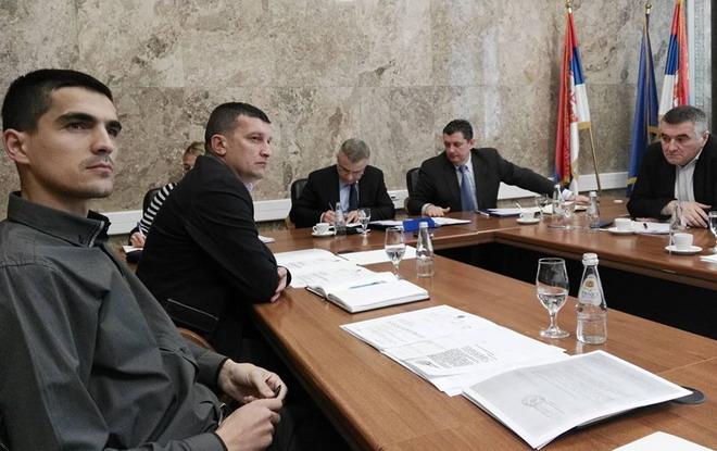 Фебруарски састанак у Кабинету министра