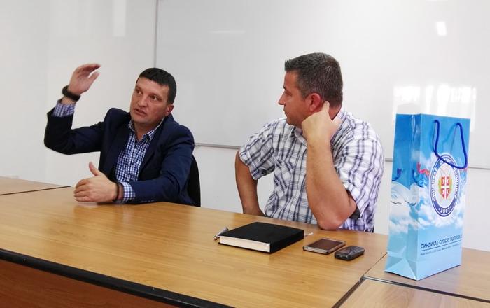 Руководство ССП у дводневној посети југу Србије
