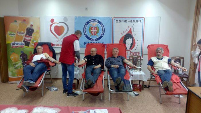 Акција добровољног давања крви у ПС Прешево