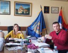 Sastanak u Sektoru za ljudske resurse sa načelnicom Katarinom Tomašević