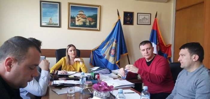 Састанак у Сектору за људске ресурсе са начелницом Катарином Томашевић