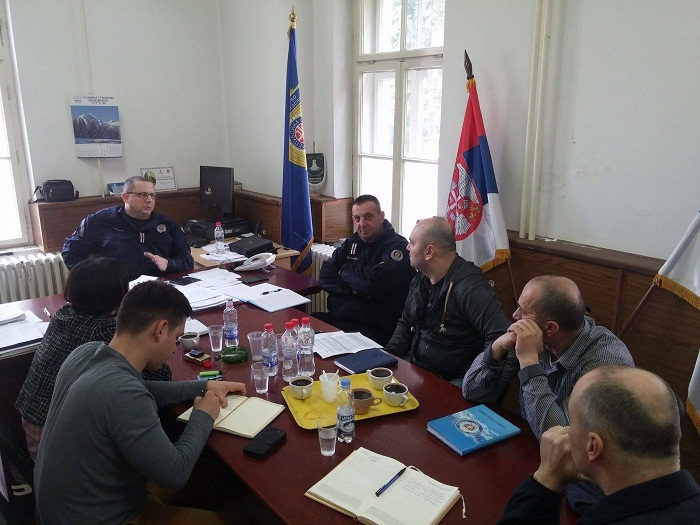 Састанак ССП са руководством РЦ ГП према Р. Хрватској