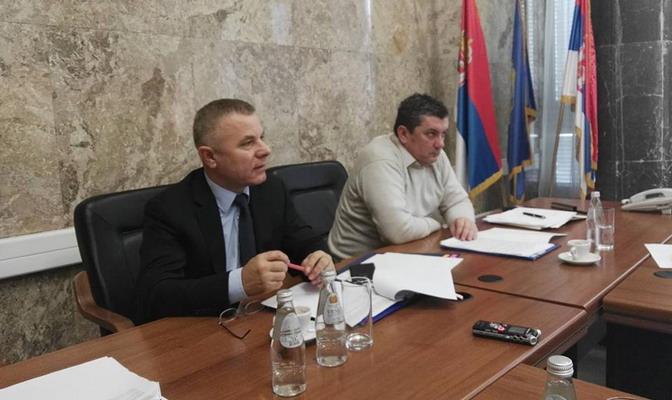 Седми месечни састанак у Кабинету министра