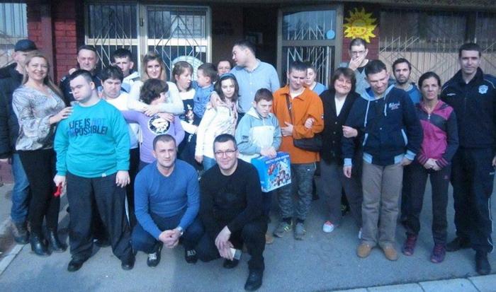 Удружена хуманитарна акција синдикалаца ССП из Краљева и Крушевца